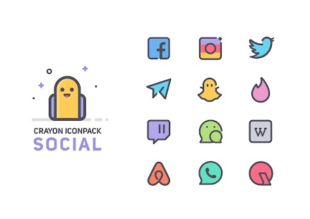 Crayon Icon Pack Screenshot