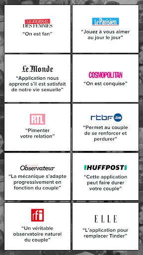 Happy Couple love quiz APK MOD – Monnaie Illimitées (Astuce) screenshots hack proof 2