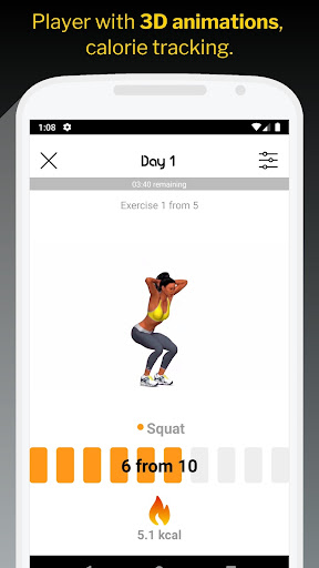 30 Day Butt & Leg Challenge women workout home 1.1.15 Screenshots 2