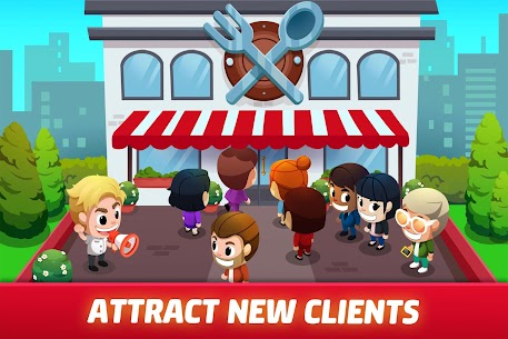 Free Idle Restaurant Tycoon – Cooking Restaurant Empire Apk Download 2021 5