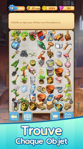 Code Triche Merge Mansion - Un manoir plein de mystères! (Astuce) APK MOD screenshots 5