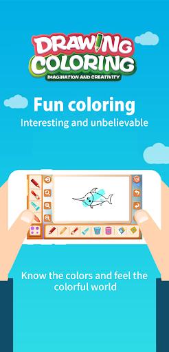 Drawing Coloring:Imagination And Creativity android2mod screenshots 8