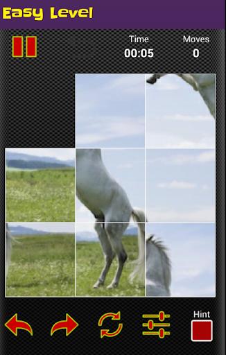 horse puzzle jigsaw for kids screenshot 2