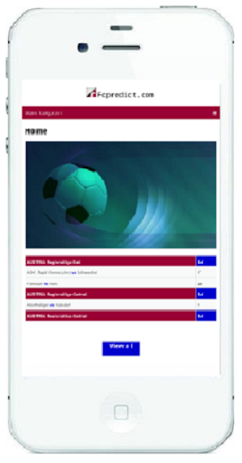 fcpredict.com official football,tennis prediction. screenshot 1