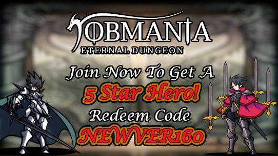 Jobmania Eternal Dungeon – RogueLike DeckBuilding 1