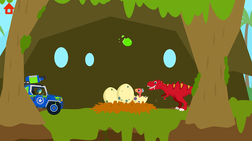 Dinosaur Guard - Jurassic! Driving Games for kids  screenshots 21