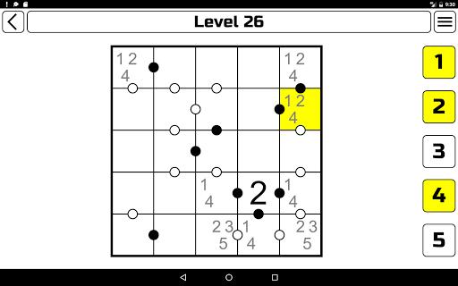 Kropki Puzzle  screenshots 17