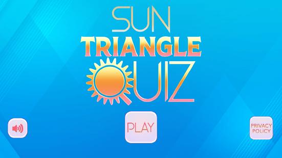 Sun Triangle Quiz Game 4.1 Screenshots 1