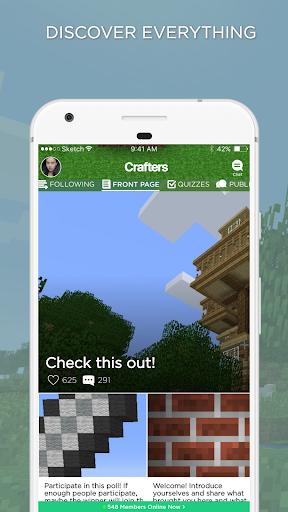 block amino for minecraft players screenshot 1