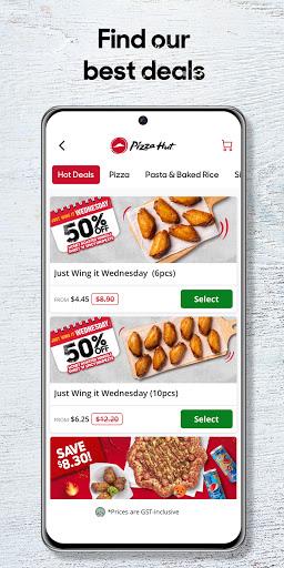 Pizza Hut - Singapore 5.0.3 Screenshots 4