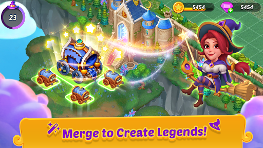 Merge Witches - merge&match to discover calm life  screenshots 1