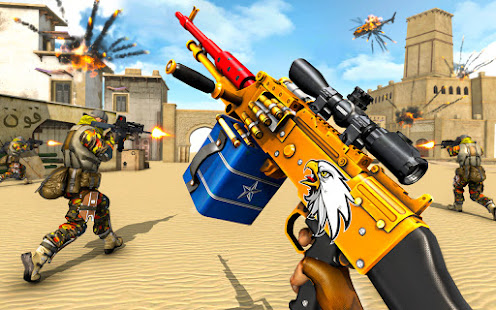FPS Counter Attack 2019 u2013 Terrorist Shooting games screenshots 13