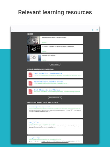 Microsoft Math Solver 1.0.121 Screenshots 19