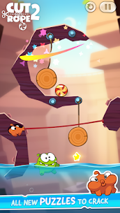 Cut the Rope 2 Mod Apk [All Levels Unlocked] 3
