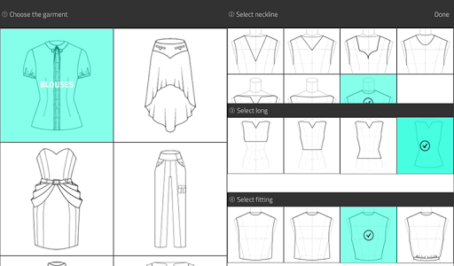 Fashion Design Flat Sketch 1.0 Screenshots 12
