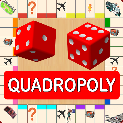Quadropoly Best AI Board Business Trading Game