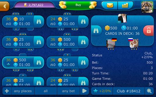 Durak LiveGames - free online card game  screenshots 14