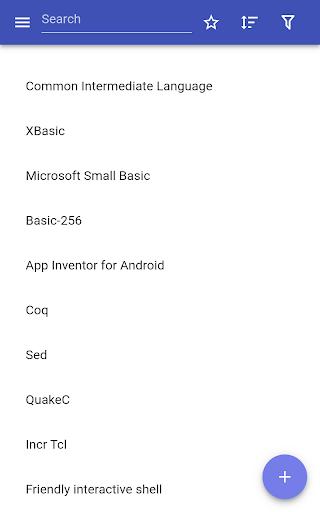 Programming languages modavailable screenshots 10