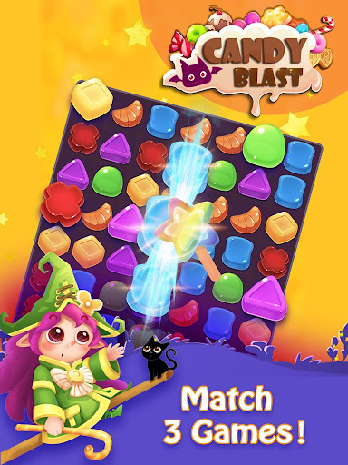 Candy Blast - 2020 Free Match 3 Games apkpoly screenshots 7