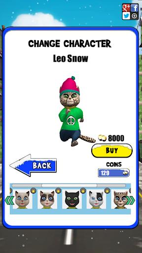 Leo Cat Ice Run - Frozen City screenshots 23