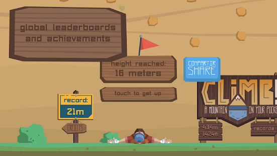 Climb! A Mountain in Your Pocket Screenshot