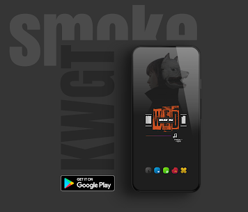 Smoke kwgt APK [Paid] Download For Android 8