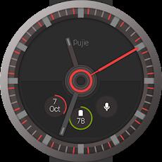 Pujie Red - Wear Watch Faceのおすすめ画像3