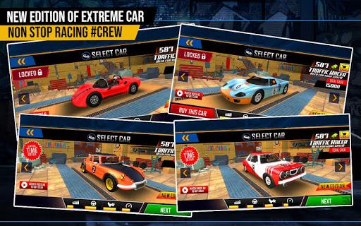racing in highway car 2018: city traffic top racer screenshot 2