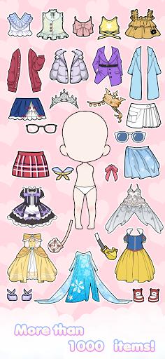 Vlinder Doll - Dress up Games, Avatar Creator  screenshots 3