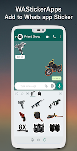 PUBG Stickers for WhatsApp – WA PUBG Stickers Pack 5