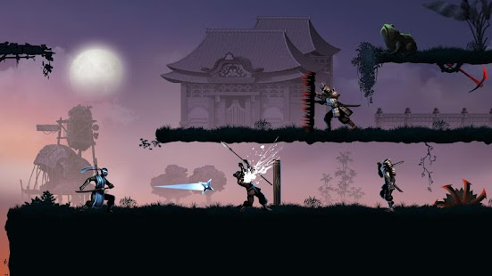 Ninja warrior: legend of adventure games Screenshot