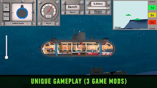 Nuclear Submarine inc MOD (Unlimited Money) 3