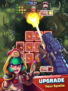 Super Spell Heroes - Magic Mobile Strategy RPG Screenshot