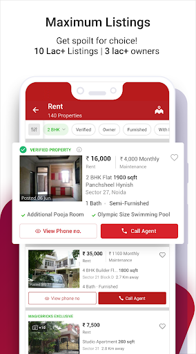 Magicbricks Property Search & Real Estate App android2mod screenshots 3