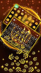 ゴールドアッラー3D重力キーボードのテーマ