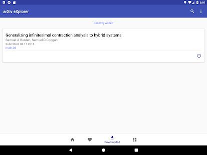 arXiv eXplorer - Mobile App for arXiv.org