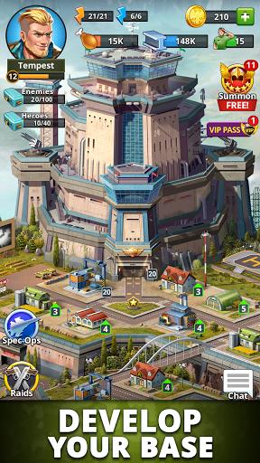 Puzzle Combat: Match-3 RPG Apkfinish screenshots 2