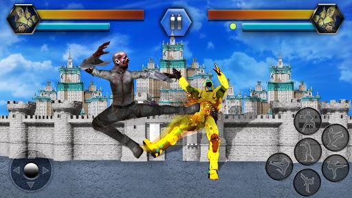 Super Robot Vs Zombies Kung Fu Fight 3D 1.10 screenshots 2
