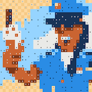 Pixel Links: The Relaxing Coloring Puzzle Game