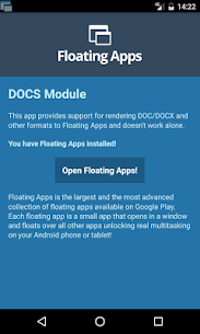 Floating Apps  DOCS For Pc- Download And Install  (Windows 7, 8, 10 And Mac) 1