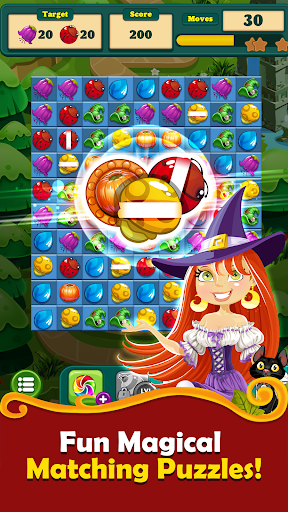 Witchy Wizard: New 2020 Match 3 Games Free No Wifi 2.1.7 screenshots 5