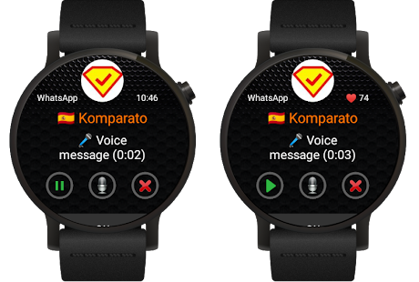 Informer: messages for Wear OS (Android Wear) Screenshot