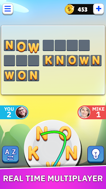 Word Land - Multiplayer Word Connect Puzzle Game screenshot 1