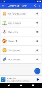 CustomRadioPlayer - Basic URL-RadioStream App 3.0.9.8