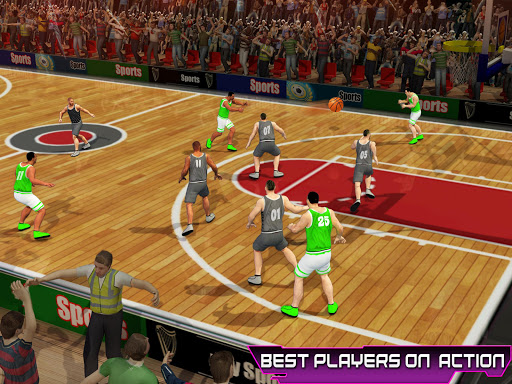 PRO Basketball Games: Dunk n Hoop Superstar Match apkslow screenshots 5