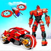Futuristic Moto Robot Hero Bike Robot Games