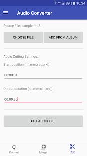 Audio Converter screenshots 3