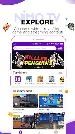 Nimo TV - Live Game Streaming android2mod screenshots 3