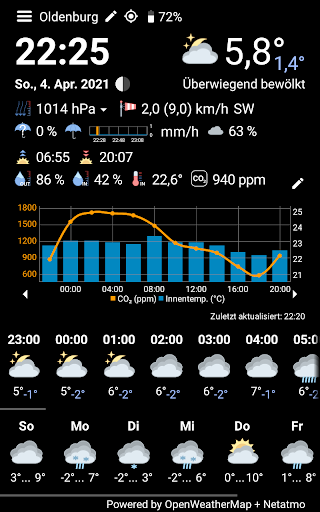 WhatWeather - Weather Station free without ads  screenshots 1