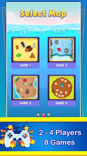 Stickman Cartoon Survival : 1 - 4 Players screenshots 17